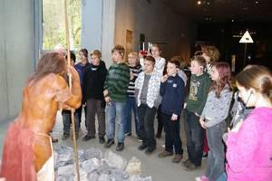 Fahrt ins Neandertalmuseum - Klassen 6 im November 2010
