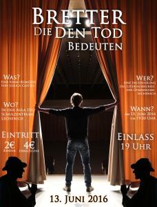 Plakat Literaturkurs Neu